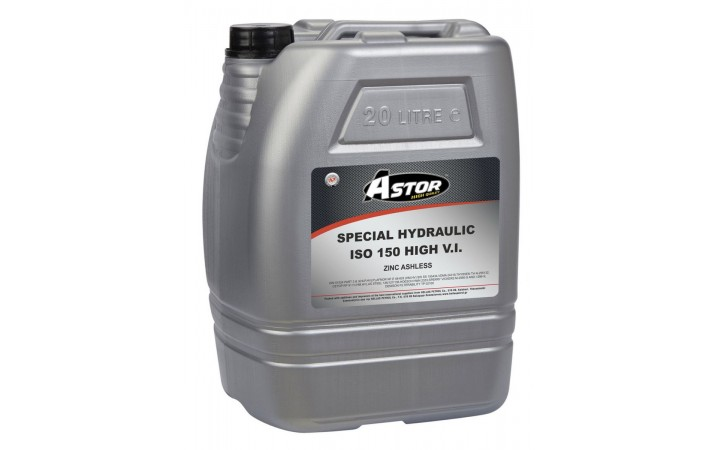 ASTOR SPECIAL HYDRAULIC HIGH V.I. ZINC ASHLESS ISO 150