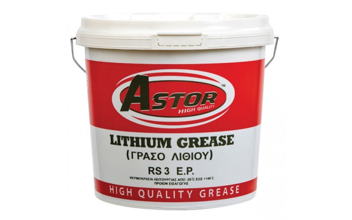ASTOR LITHIUM GREASE NLGI RS 3 E.P.