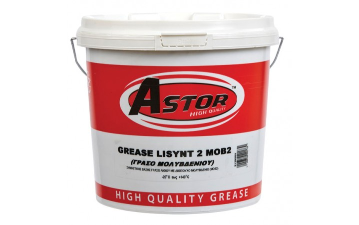 ASTOR GREASE LISYNT (MoS2) NLGI 2 E.P. SYNTHETIC (ΜΟΛΥΒΔΕΝΙΟΥ)