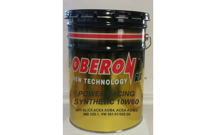 OBERON RX POWER RACING SYNTHETIC 10W60