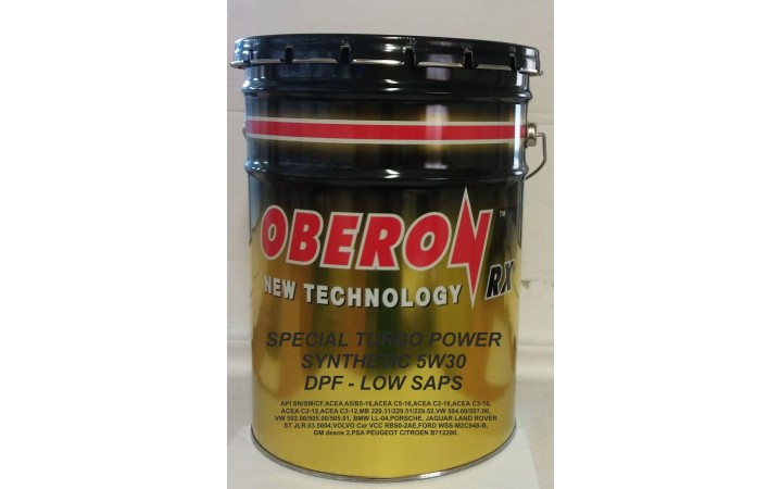 OBERON RX SPECIAL TURBO POWER SYNTHETIC DPF LOW SAPS  5W30