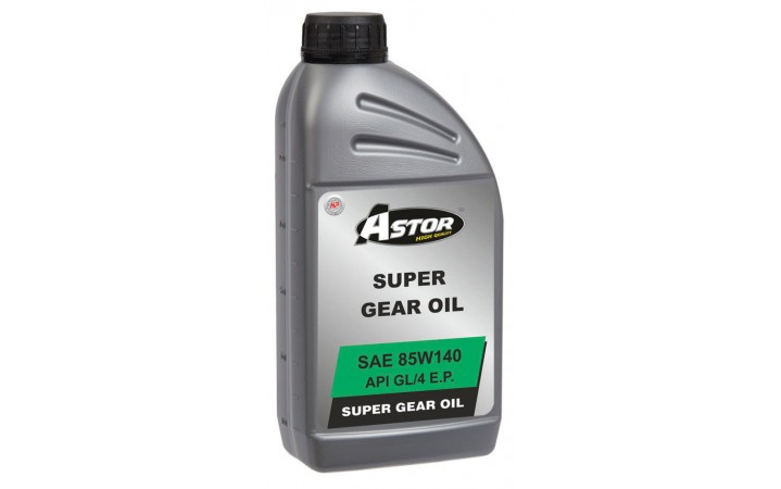 ASTOR SUPER GEAR OIL SAE 85W140 API GL/4 E.P.