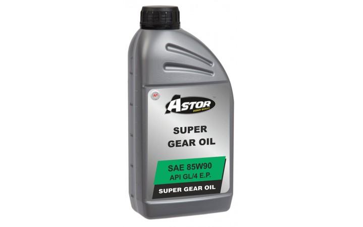 ASTOR SUPER GEAR OIL SAE 85W90 API GL/4 E.P.