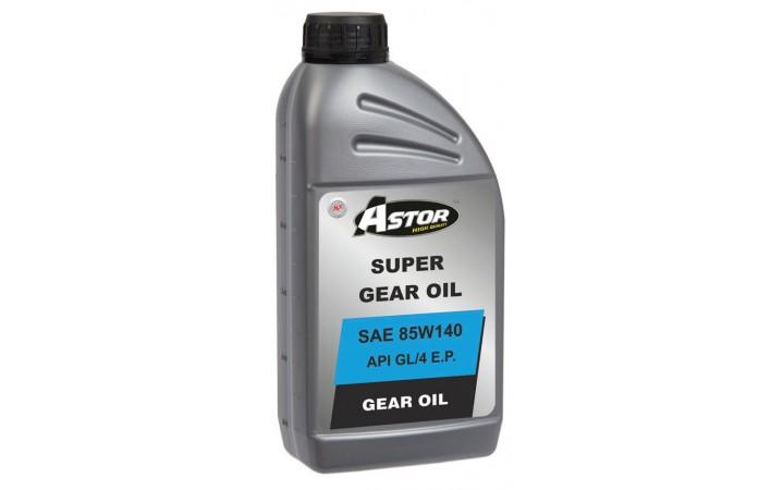 ASTOR HYPOGEAR OIL SAE 85W140 API GL/5 E.P.