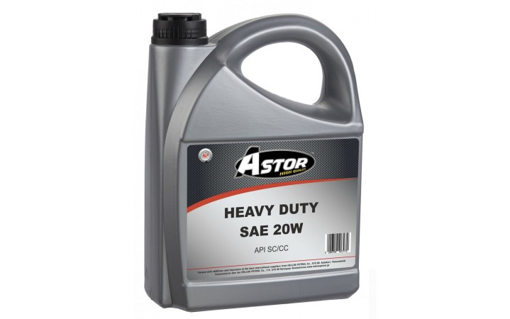 ASTOR HEAVY DUTY SAE 20W