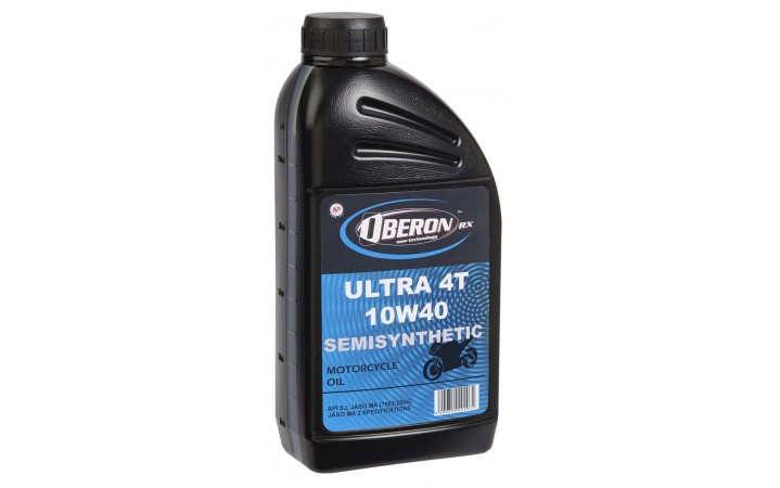 OBERON ULTRA 4T MOTORCYCLE OIL SEMISYNTHETIC 10W40