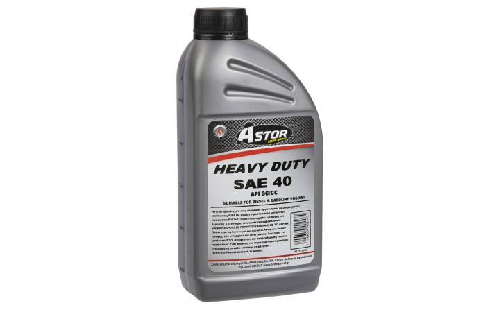 ASTOR HEAVY DUTY SAE 40
