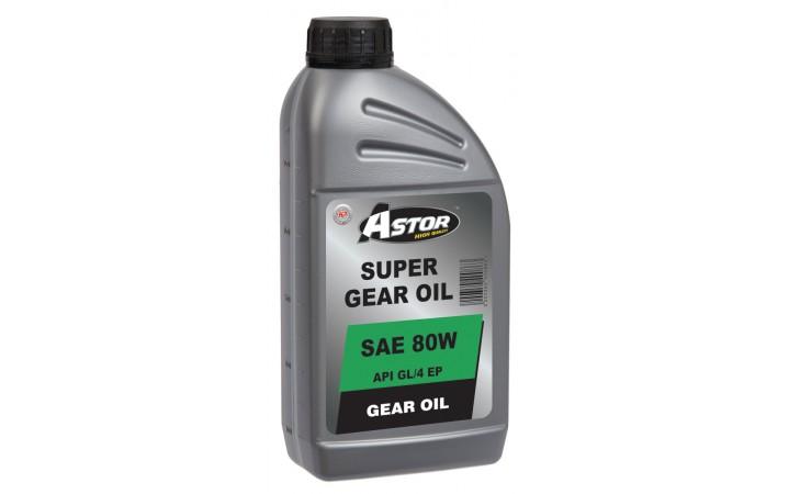 ASTOR SUPER GEAR OIL SAE 80W API GL/4 E.P.