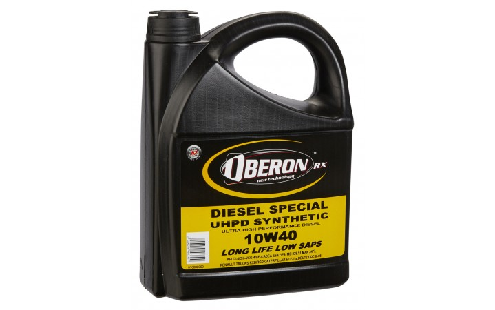 OBERON RX DIESEL SPECIAL UHPD SYNTHETIC 10W40 LONG LIFE LOW SAPS