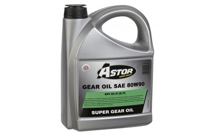 ASTOR SUPER GEAR OIL SAE 80W90 API GL/4 E.P.