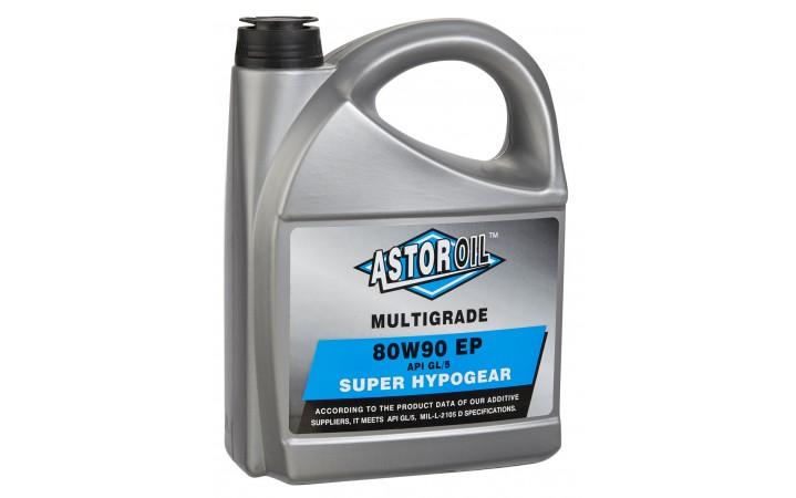 ASTOR HYPOGEAR OIL SAE 80W90 API GL/5 E.P.