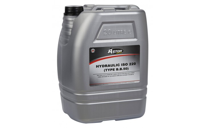 ASTOR HYDRAULIC ISO 220 (TYPE B.B.50)