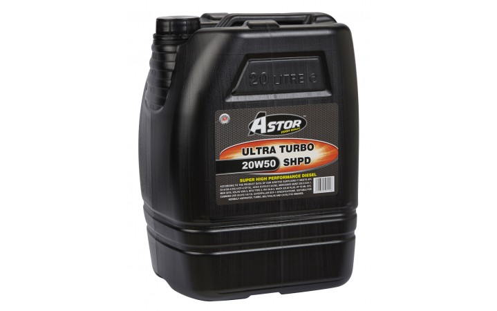 ASTOR ULTRA TURBO SHPD 20W50