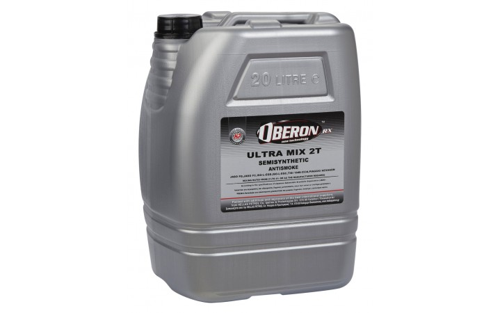 OBERON ULTRA MIX 2T SEMISYNTHETIC ANTISMOKE