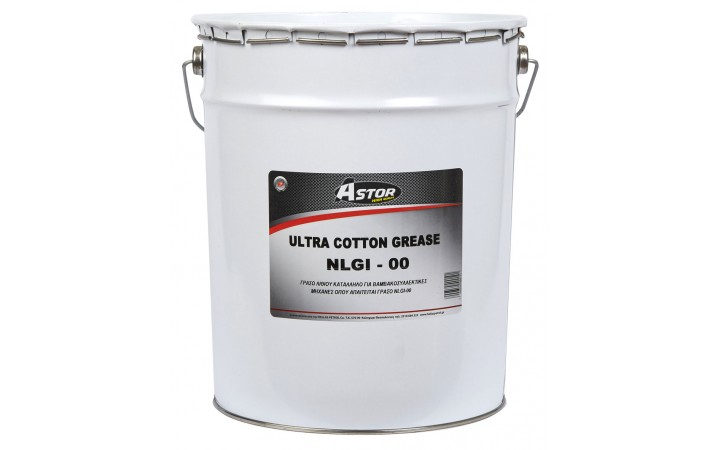 ASTOR LITHIUM GREEN LUB NLGI 00 COTTON GREASE