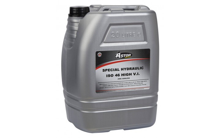 ASTOR SPECIAL HYDRAULIC HIGH V.I. ZINC ASHLESS ISO 46